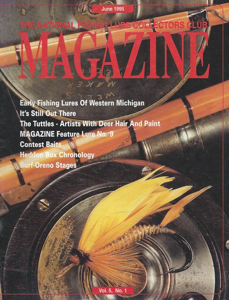 NFLCC Magazine Article Index 1995 Vol 5 No 1