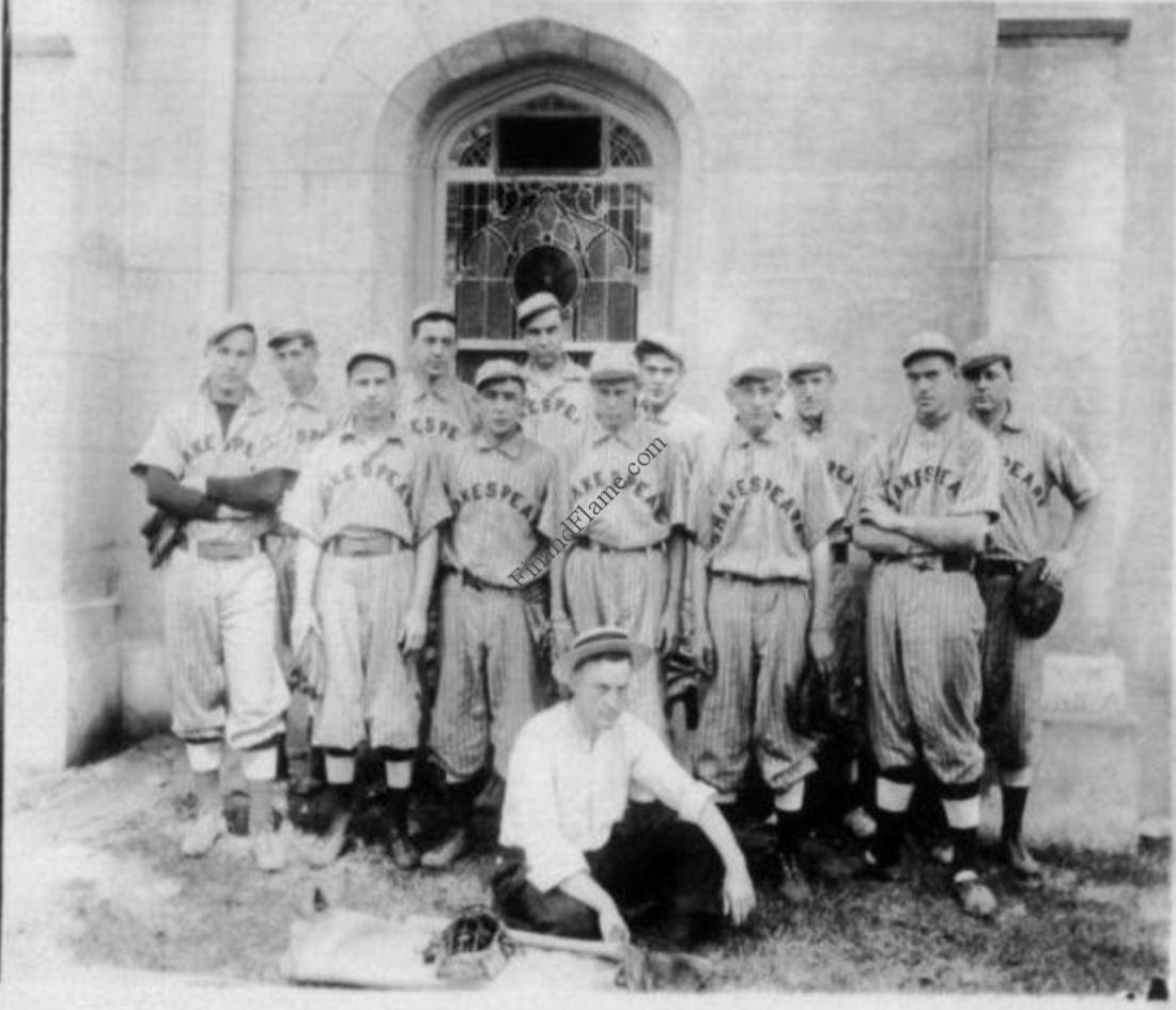 Shakespeare Bait Company Baseball Team