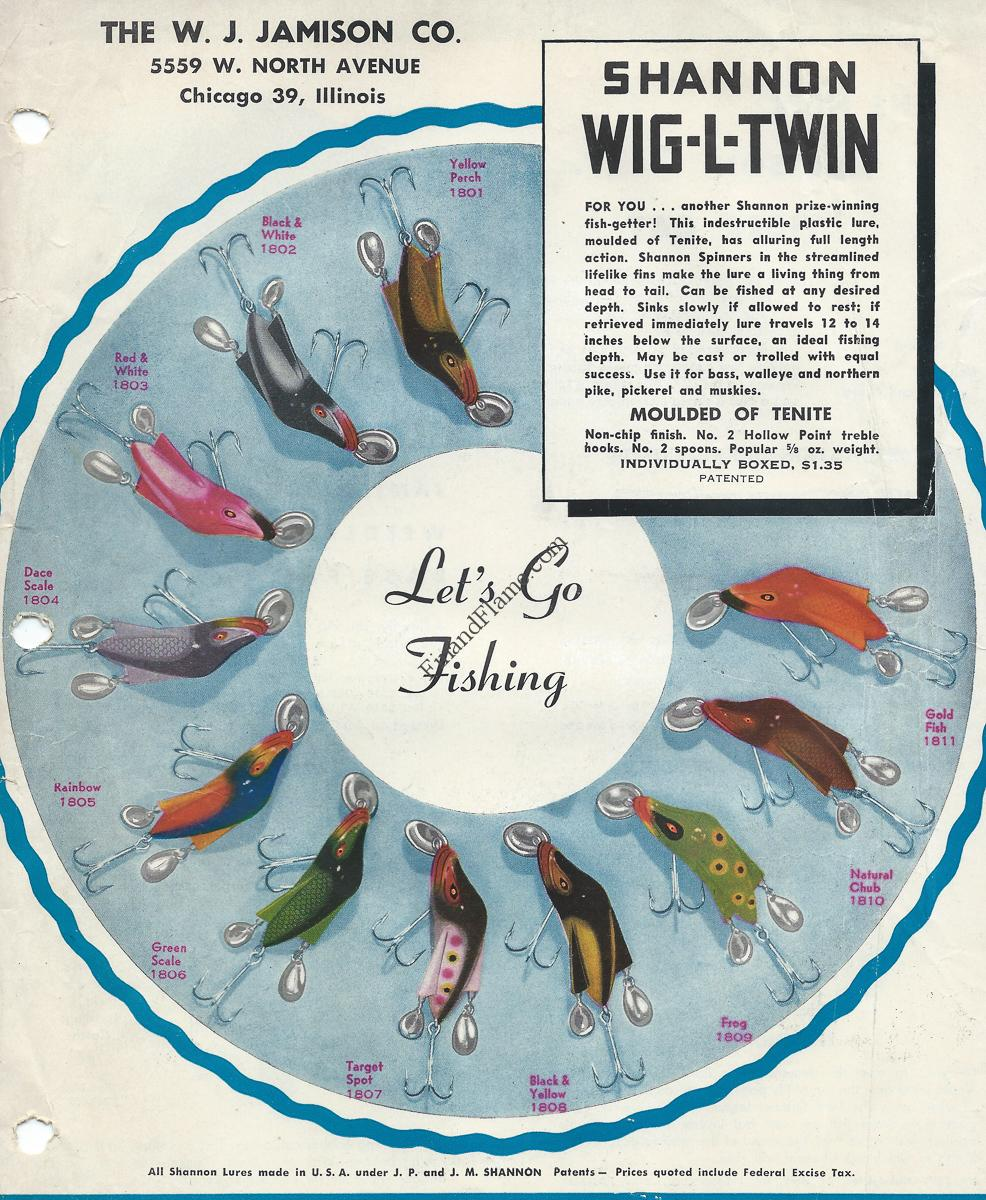 Jamison wig l twin lure color chart fin and flame fishing for jamison wig l twin lure color chart nvjuhfo Gallery