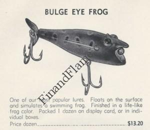 Bulge Eye Frog Lure