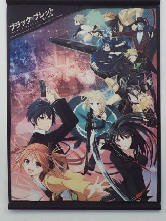 Black Bullet - Enju Aihara wall scroll