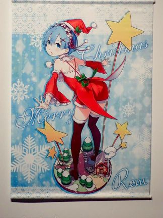 Re:Zero - Rem Christmas ver - Wall Scroll
