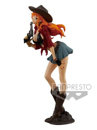 Banpresto Onepiece Treasure Cruise World Journey Vol.1-Nami - Monkey D. Luffy