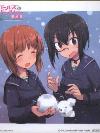 Girls und Panzer final chapter 1 - Miho Nishizumi shikishi