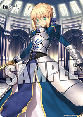 Fate/stay night Rubber Mat