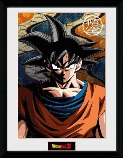 Goku - Dragon ball Z Goku Collector Print