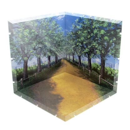PLM Dioramansion 150: Tree Lined Path Figure Diorama - Action figure