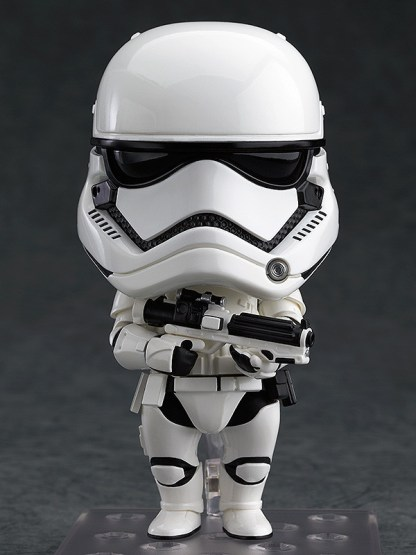 Star Wars - First Order Stormtrooper, Nendoroid [599] - Good Smile Company Star Wars First Order Stormtrooper Nendoroid Action Figure