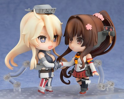 Nendoroid 688 Kantai Collection KanColle Iowa Figure Good Smile Company NEW F/S