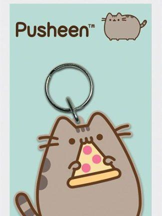 Pusheen avaimenperä - Pusheen Pizza Rubber Keychain