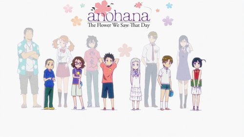 anohana illustration