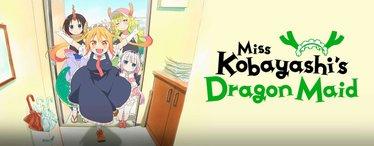 Miss Kobayashi's Dragon Maiden Pilgrimage Logo