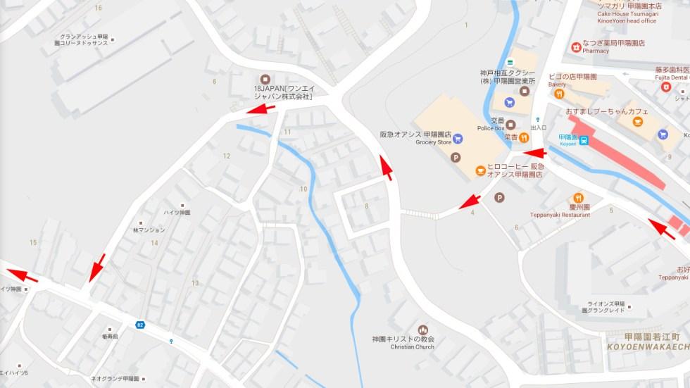 Haruhi Suzumiya Koyoyen map