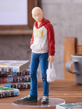 One Punch Man - Saitama Pop Up Parade figuuri, Oppai Hoodie ver
