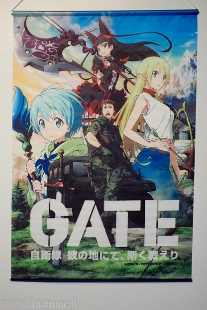 GATE wall scroll - Gate