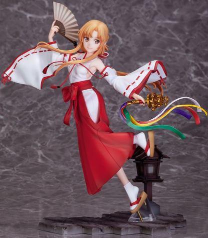 Sword Art Online: Alicization - War of Underworld - Asuna Miko ver figuuri