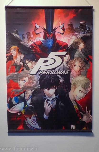 Persona 5 Wall Scroll