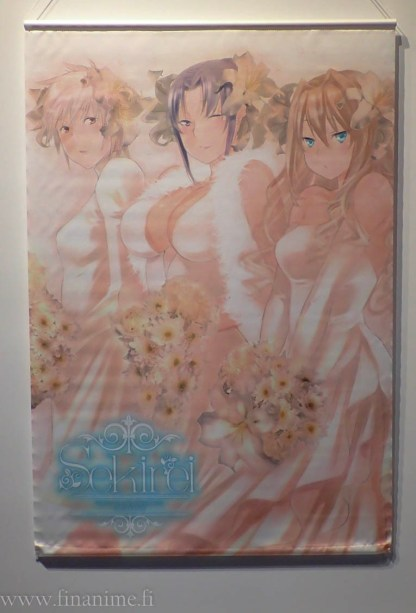Sekirei Wall Scroll - Special Wedding ver