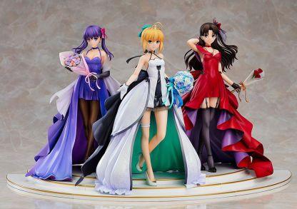 Fate/Stay Night - Saber, Rin & Sakura Celebration Dress figuurit
