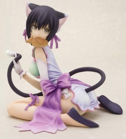 Shining Hearts - Mischievous Slinking Cat Xiaomei figuuri
