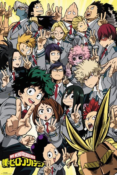 My Hero Academia School Compilation Juliste