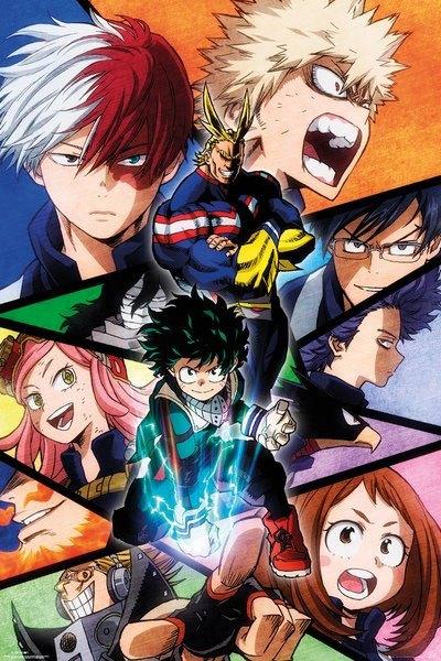 My Hero Academia Characters Juliste