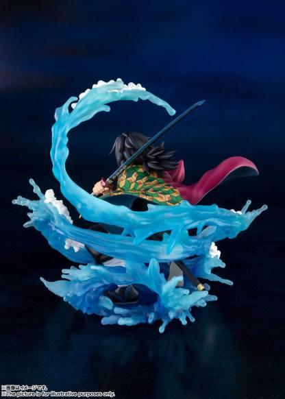 Kimetsu no Yaiba - Tomioka Giyu figuuri Uusi Arviolta 17 cm korkea Valmistaja Bandai Tamashii Nations, Figuarts Zero