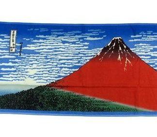 Ukiyo-e Pyyhe -Katsushika Hokusai Kaifu