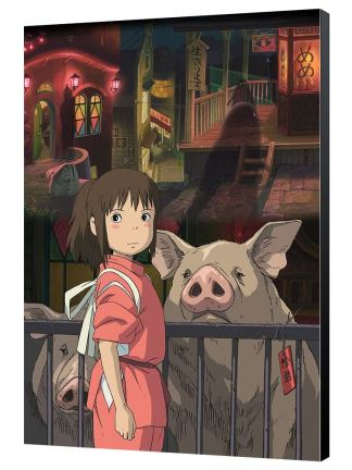 Studio Ghibli - Spirited Away Puutaulu