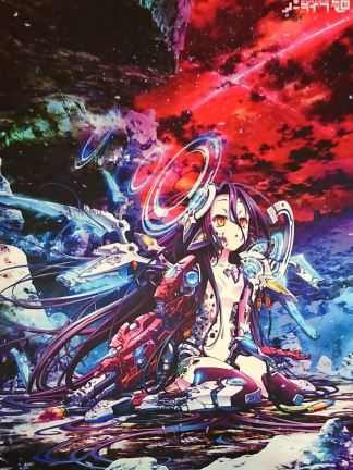 No Game No Life - Schwi Wall Scroll