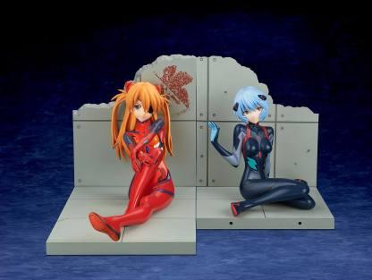 Evangelion - Asuka Shikinami Langley Plugsuit figuuri