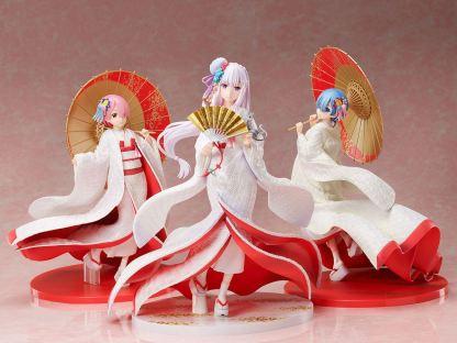 Re:Zero - Emilia Shiromuku figuuri
