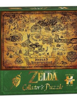 Legend of Zelda - Hyrule Map Palapeli