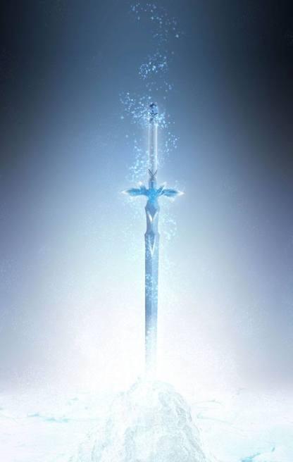 Sword Art Online: Alicization War of Underworld – The Blue Rose Sword Proplica Replica