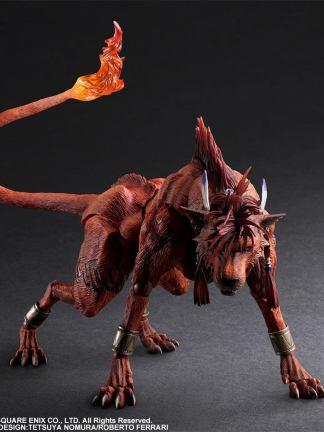 Final Fantasy VII Remake - Red XIII Play Arts Kai figuuri
