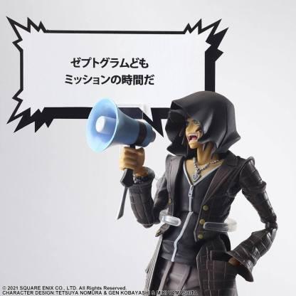 The World Ends With You - Minamimoto Play Arts Kai figuuri