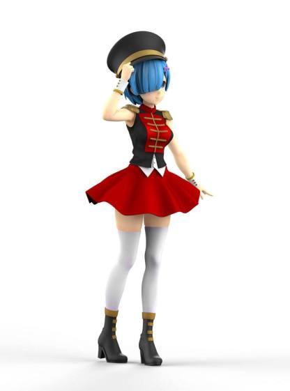 Re:Zero - Fairy Tale Rem Nutcracker figuuri