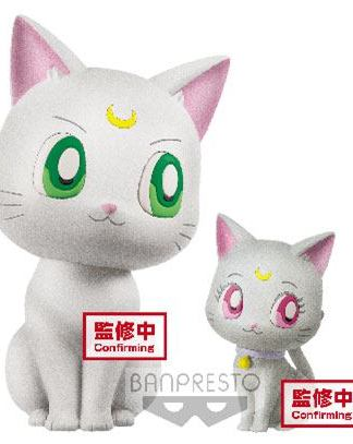 Sailor Moon Eternal - Artemis & Diana Fluffy Puffy Mini Figuuri