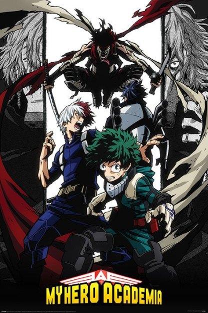 My Hero Academia: Boku no Hero Academia - Killer Stain juliste