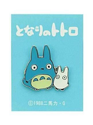 Studio Ghibli - Middle & Small Totoro Pinssi
