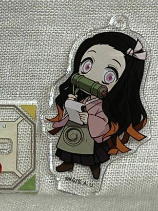 Kimetsu no Yaiba: Demon Slayer - Nezuko Kamado avaimenperä Koko arviolta 6,3 x 3,6 cm Materiaali akryylia