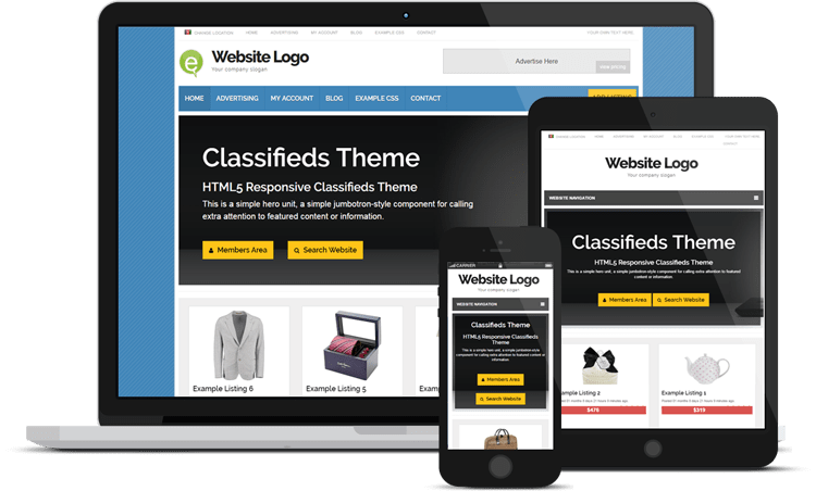 ecran-classifieds-theme