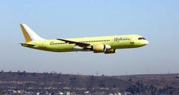 Rus Yolcu Uçağı Test Uçuşunu Başarıyla Gerçekleştirdi
