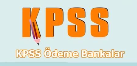 KPSS Ödeme Bankalar