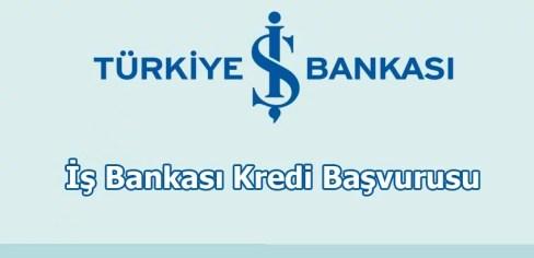 İs Bankasi Kredi Basvurusu