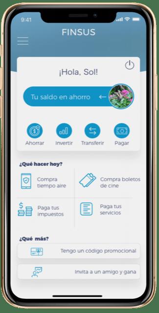 App Android y iOS de Financiera Sustentable