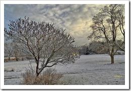 Schnee 2. Weihnachtsfeiertag 26.12.2014