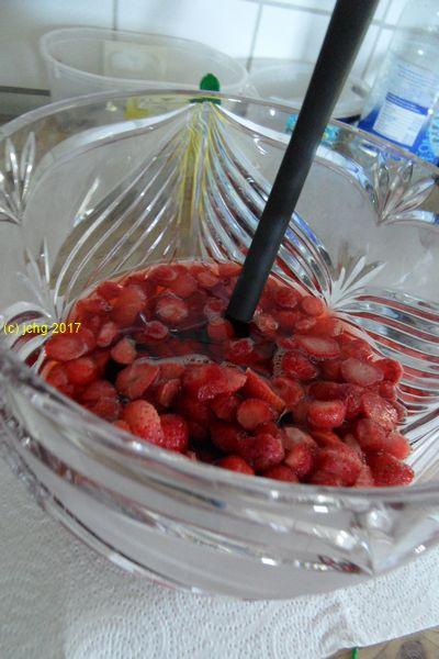 Erdbeeren in der Bow2le