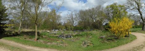 Der Garten am 14.04.2017