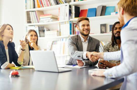 Hiring and Firing of Employees at Large Companies